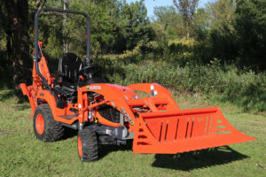 Kubota BX rock bucket