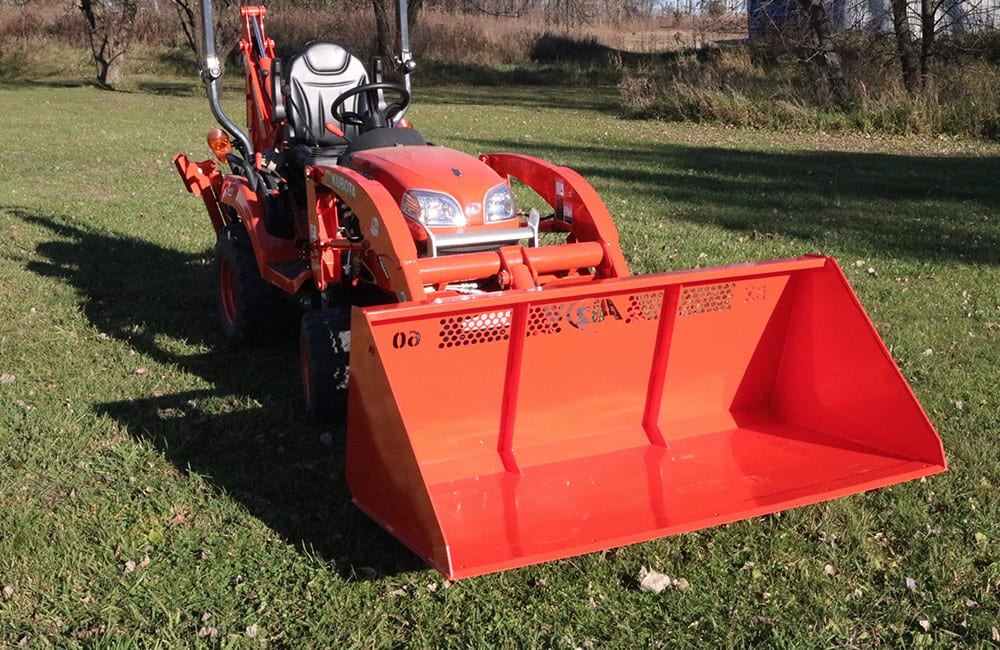 Ai2 Kubota Light Material Bucket