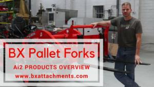 Kubota BX videos - BX Pallet Forks
