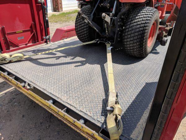 Bx rear tie down
